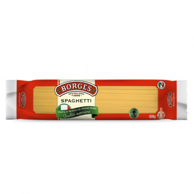 Макароны (Спагетти) BORGES Высший сорт, Италия, 0,5 кг