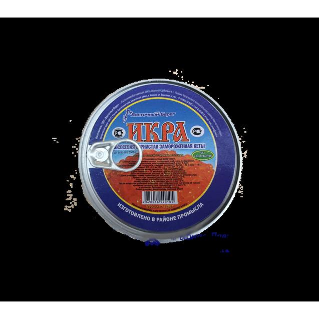 Икра горбуши замороженная, БЕЗ КОНСЕРВАНТОВ, малосоленая (Восточный Берег) ключ, Камчатка, 200 гр