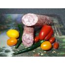 """Колбаса полусухая """"Сальчисон"""" сырокопченая (вес одного батона около 700-800 гр.) вакуум """"Сытый смолянин"""", Смоленск, 1 кг"""