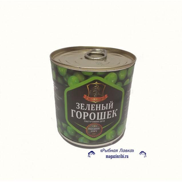 Горошек зеленый из мозговых сортов (Хавиар) ключ, гост, в/с, Краснодар, 420 гр.