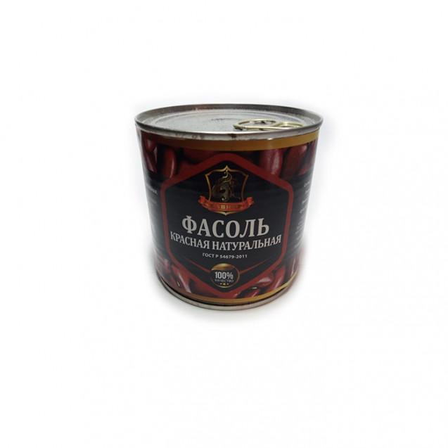 Фасоль красная натуральная в собственном соку (Хавиар), ГОСТ, ключ, Краснодар, 420 гр
