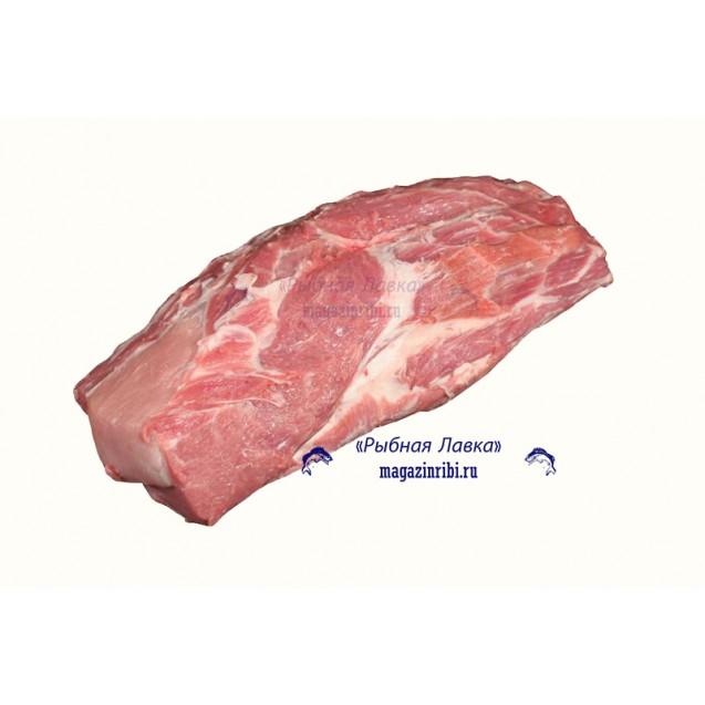 Шейка свиная без кости (2-3 кг) замороженная, Россия, 1 кг