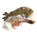 Тигровые креветки, черные, без головы(41/50), техническая глазурь, Бангладеш, 2кг