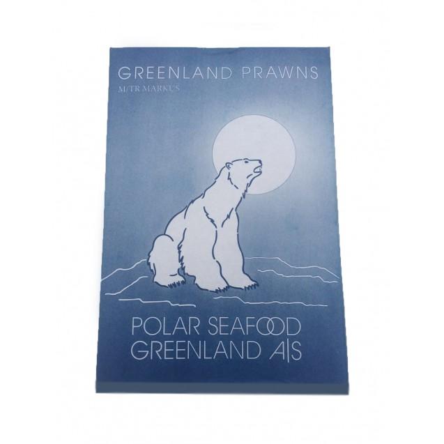 """Креветки """"дикие"""" ( 70/90 ), сухой заморозки, варено-мороженные, Гренландия, 5 кг"""