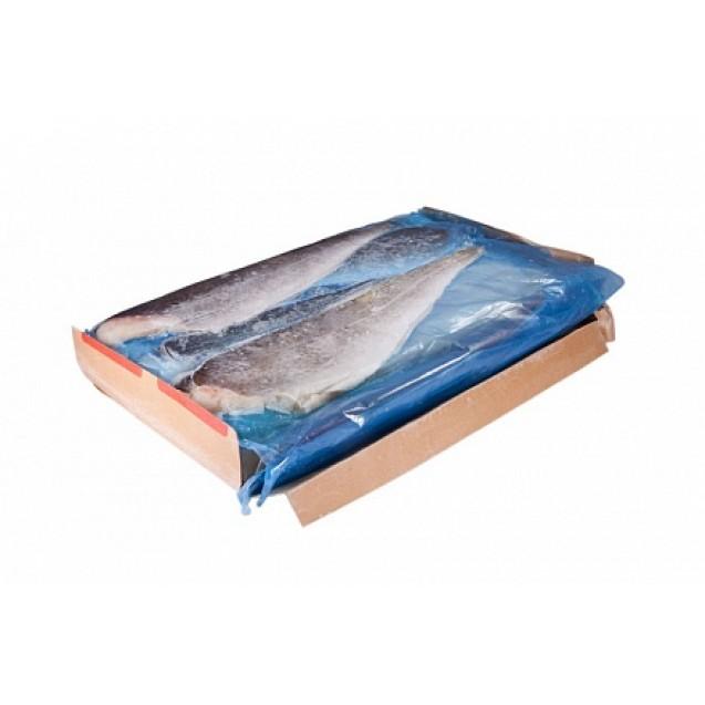 Филе трески без кожи, проложенное (140-230 гр.) сухой заморозки, Еврофиш, изготовлено в море, Мурманск 6.81кг