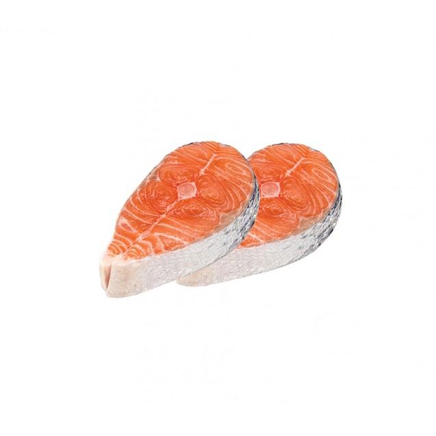 Стейк форели, глазури 3-5%, Карелия, 1 кг