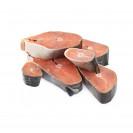 """Стейк горбуши """"Дикий лосось"""", вакуумная упаковка, Камчатка, 0,5 кг"""