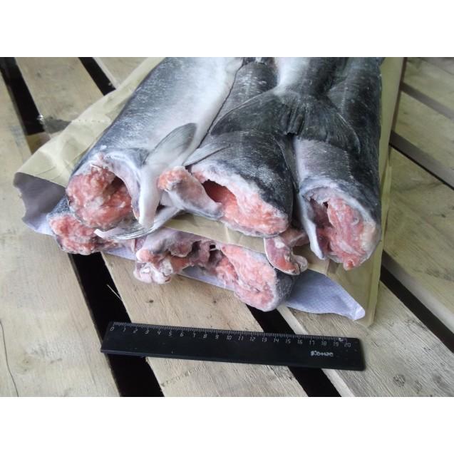 Кижуч потрошенный, без головы, серебро (штучной заморозки), Камчатка 1кг
