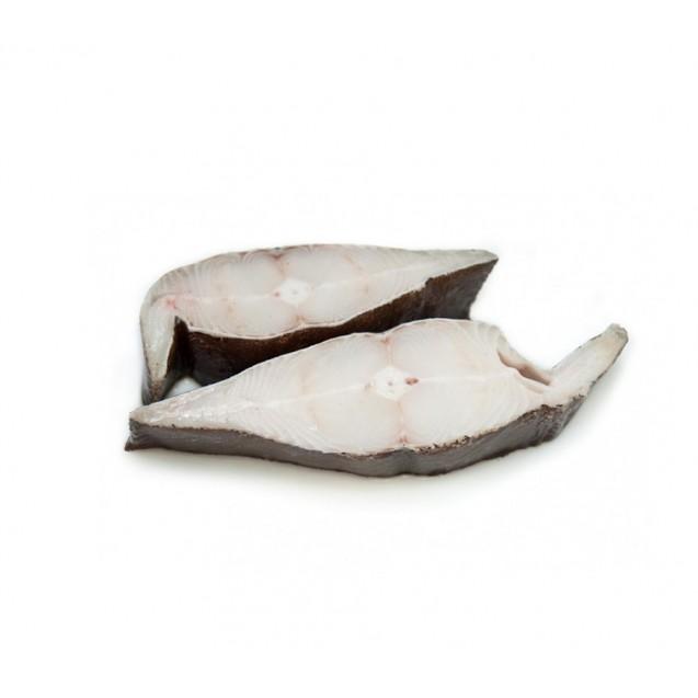 Стейк палтуса синекорого, штучной заморозки, Мурманск, 1 кг