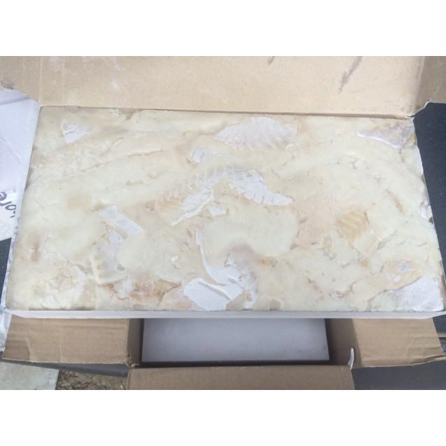Филе трески блочное кусочки, без шкуры, без костей, Мурманск, 7,5 кг