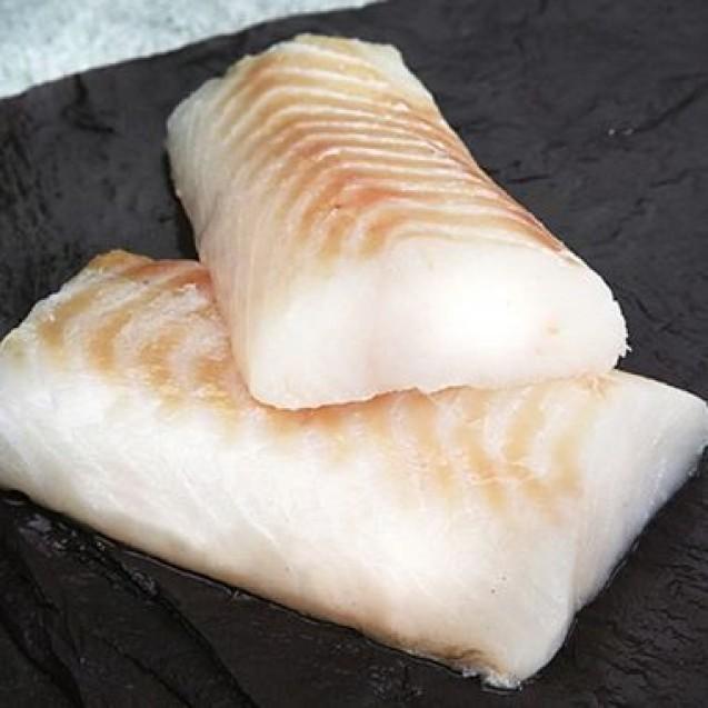 Филе трески спинка (лоинс), произведено в Мурманске из охлажденного сырья, 1 кг
