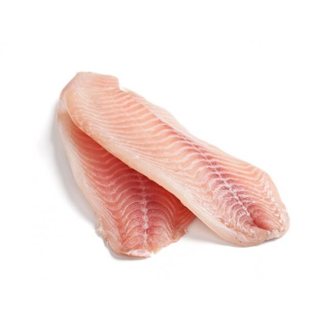 Филе тилапии без кожи, глазурь 5%, Китай, 1 кг