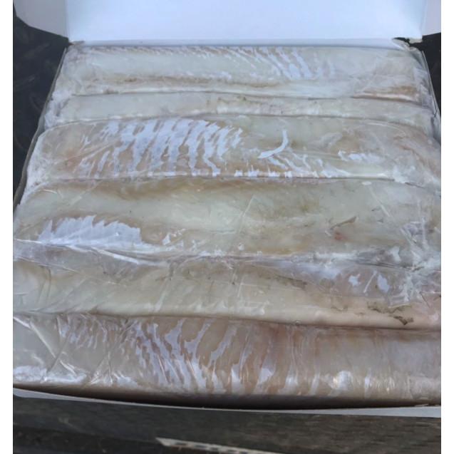 Филе трески спинка (ЛОИНС) экспортное, проложенное, сухой заморозки, Мурманске, 3,4 кг