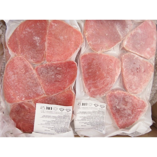 Тунец филе порционное (100 - 200 гр.) Вакуумная упаковка, 0,5 кг