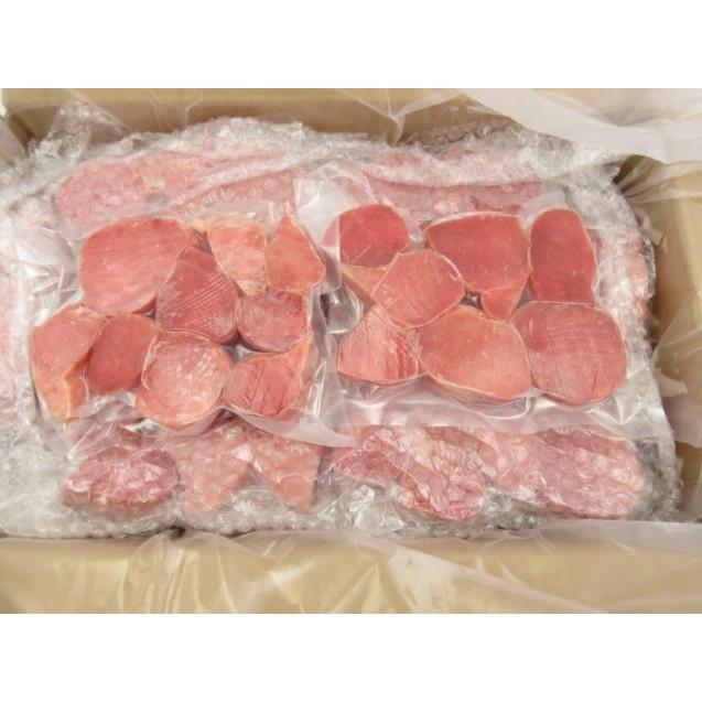 Тунец кусочки филе (50гр+), Вакуумная упаковка, 0,5 кг