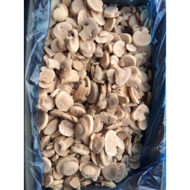Шампиньоны резаные замороженные, Россия, 1 кг