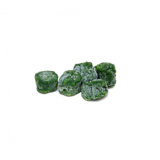 Шпинат листовой резанный порционный замороженный, Россия, 1кг
